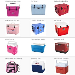 Colored Coolers - Pink Yeti Coolers, Red, Blue, and Much More