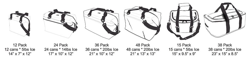 21 X13 X13 Black BOAT LAKE RIVER AO COOLERS Carbon Cooler 48 Pack