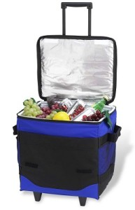 picnic at ascot collapsible rolling cooler