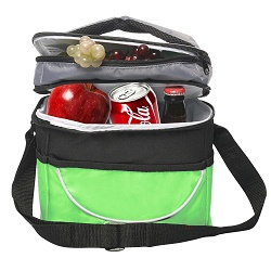 sacko dual compartment insulated lunch bag