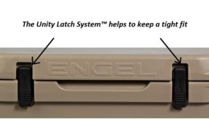 unity latch engel cooler