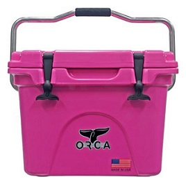 pink orca cooler