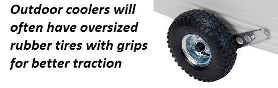 outdoor cooler tires