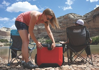 Wheeled coolers can help elevate the cooler body off of the ground and also help to clear rocks and other debris.