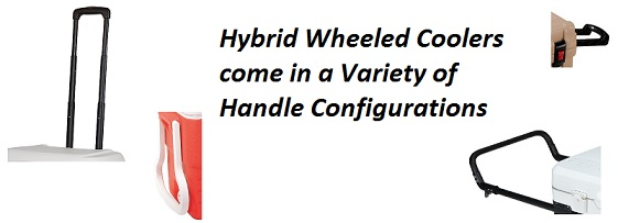 wheeled cooler handles