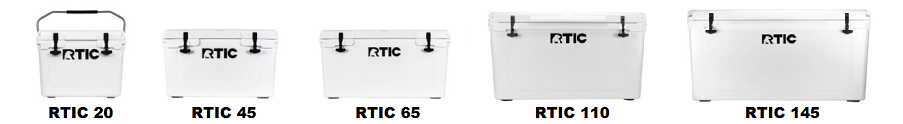 RTIC hard-sided coolers