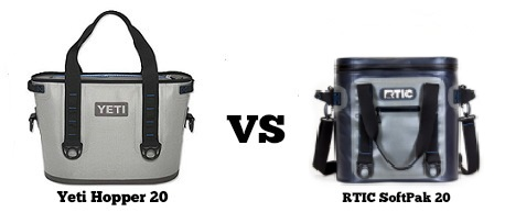 yeti hopper 20 vs rtic softpak 20