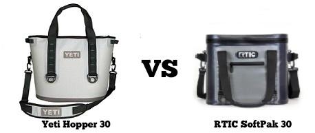yeti hopper 30 vs rtic softpak 30