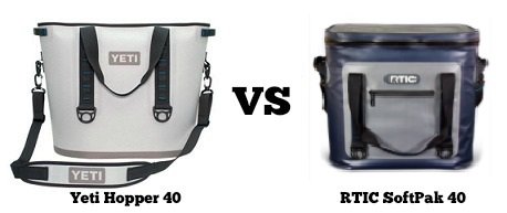 yeti hopper 40 vs rtic softpak 40