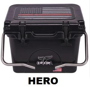 hero series orca cooler