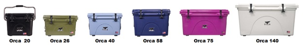 orca hard-sided coolers