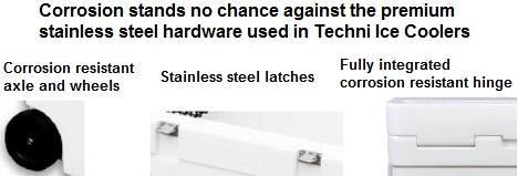 techni ice corrosion resistant hardware