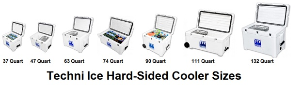 techni ice hard-sided cooler lineup