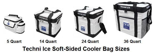 techni ice soft-sided cooler lineup