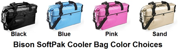 bison softpak color choices