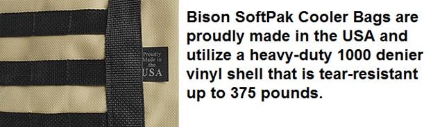 bison softpak vinyl shell