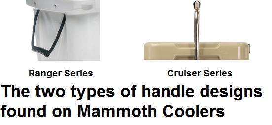 mammoth cooler handle designs
