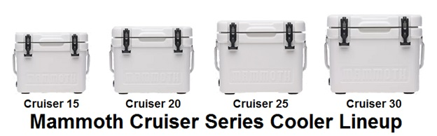mammoth cruiser series lineup