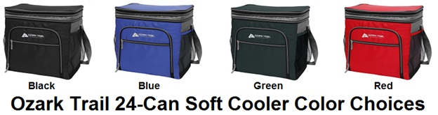ozark trail 24 can cooler options