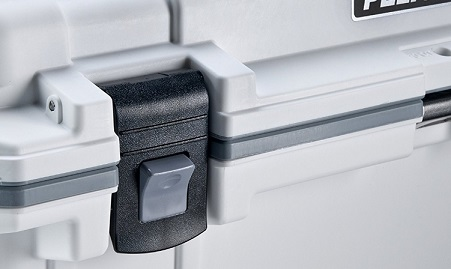 pelican elite cooler latch system