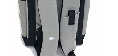 polar bear backpack cooler shoulder straps