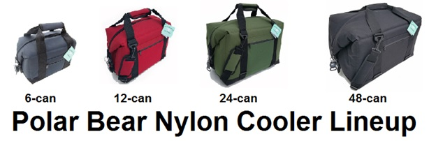 polar bear nylon cooler lineup