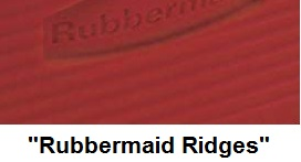 rubbermaid cooler ridges
