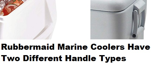 rubbermaid marine cooler handles
