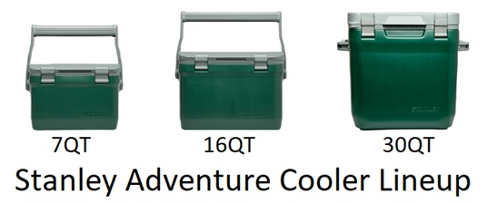 stanley adventure cooler lineup