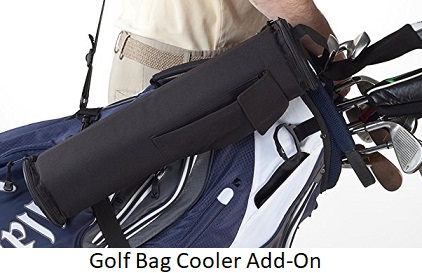 golf bag cooler add-on