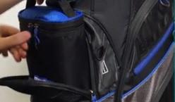 golf bag cooler how it works