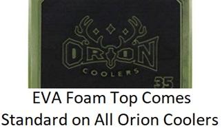 orion cooler foam lid
