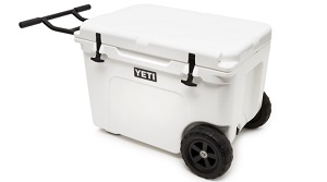 yeti cooler with wheels