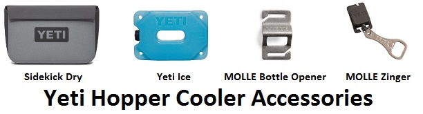yeti hopper soft cooler accessories