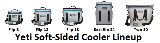 yeti hopper soft cooler lineup
