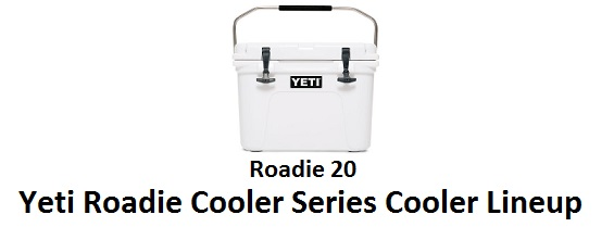 yeti roadie cooler series lineup