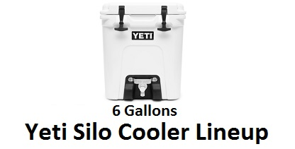 yeti silo cooler series lineup