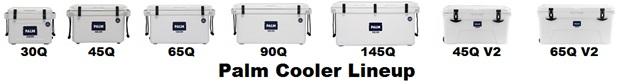 palm cooler lineup