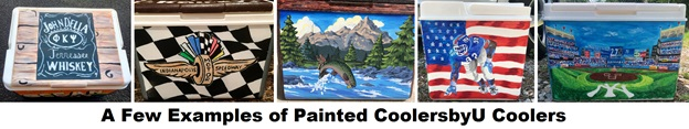 coolersbyu cooler paint examples
