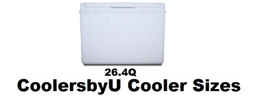 coolersbyu cooler sizes