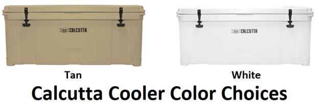 calcutta cooler color choices