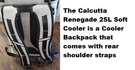 calcutta soft cooler shoulder straps