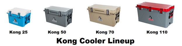 kong cooler lineup