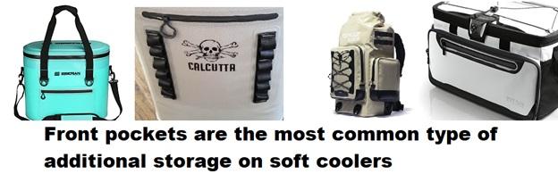 best soft cooler front pockets