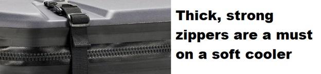 best soft cooler strong zippers