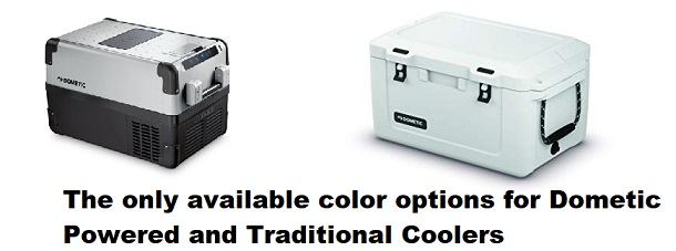 dometic cooler color options