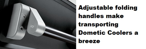 dometic powered cooler handles