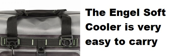 engel soft cooler carrying handles