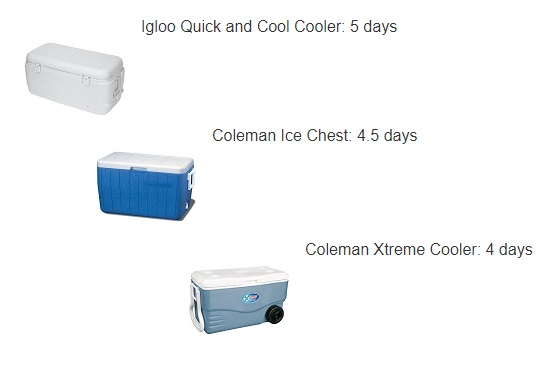 low price cooler ice life
