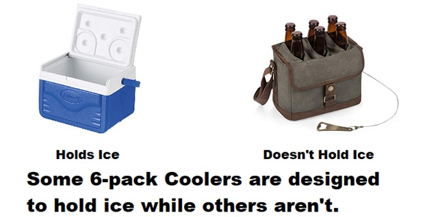 best 6 pack coolers ice vs no ice